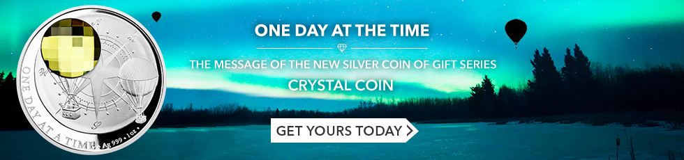 New Crystal Coin on sale