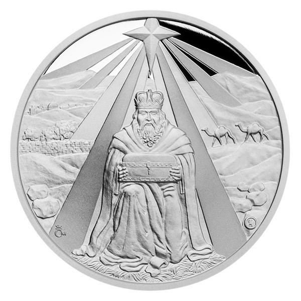 Stříbrná medaile Melichar proof