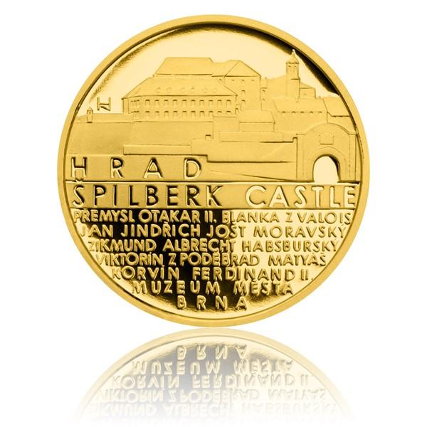 Zlatý dukát Památky Brna - Špilberk proof