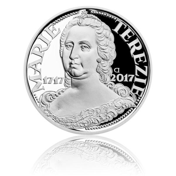 Stříbrná mince 200 Kč 2017 Marie Terezie proof