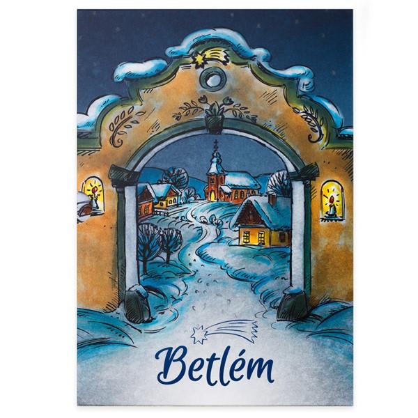 Sběratelské album na pamětní medaile Betlém