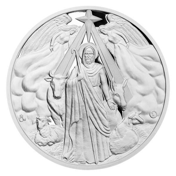 Stříbrná medaile Svatý Josef proof