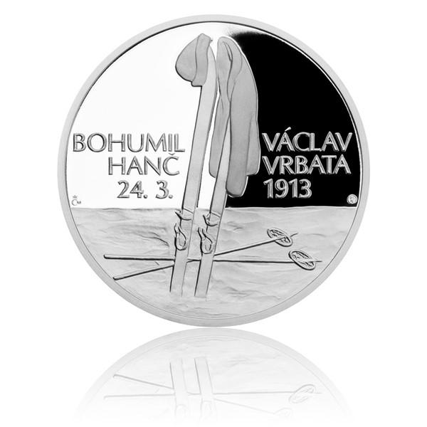 Stříbrná medaile Příběhy naší historie - Hanč a Vrbata proof