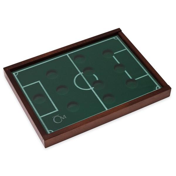 Dřevěná etue pro ČS fotbalové legendy - na zlaté mince průměr 22mm