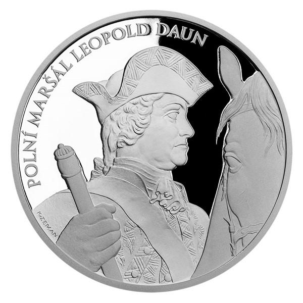 Stříbrná medaile Dějiny válečnictví - Bitva u Kolína proof