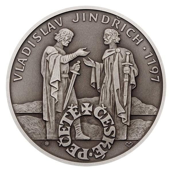 Stříbrná medaile České pečetě - Vladislav Jindřich stand