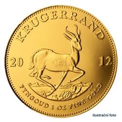 f49227f65 Zlatá investiční mince 1 Oz Krugerrand - Südafrika stand   Česká ...