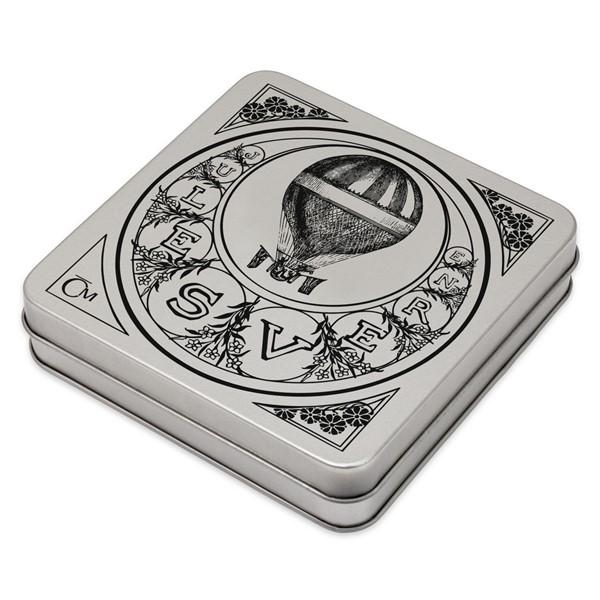 Sběratelská plechová etue na čtyři stříbrné mince Fantastický svět Julese Verna