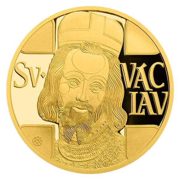 Pětidukát svatého Václava proof