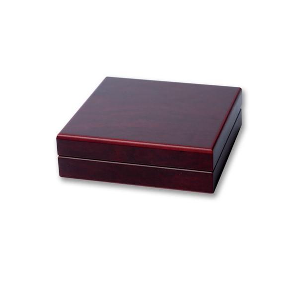 Dřevěná etue tmavá VOLTERRA na kapsle EVERSLAB o 34mm
