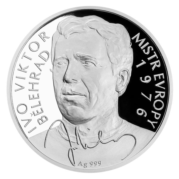 Stříbrná mince Ivo Viktor proof