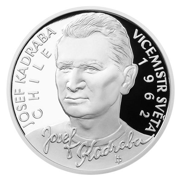 Stříbrná mince Josef Kadraba proof