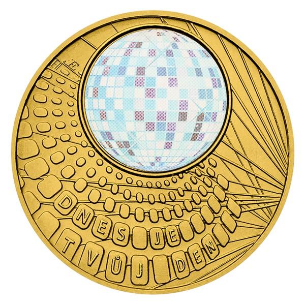 Medaile Dnes je tvůj den stand