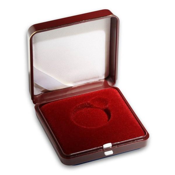 Plastová etue červená 6x6 na průměr 27,6 mm