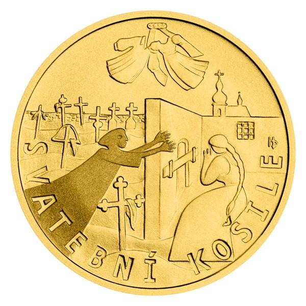 Zlatý dukát K. J. Erben, Kytice - Svatební košile stand