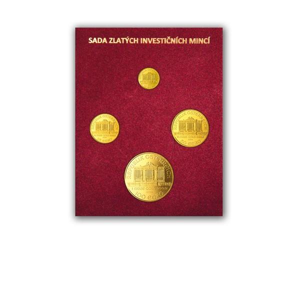 Sada zlatých investičních mincí Wiener Philharmoniker