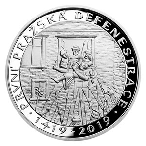 Silver coins CNB | Czech Mint
