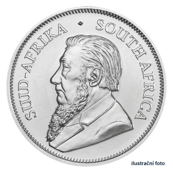 Stříbrná investiční mince 1 Oz Krugerrand - Südafrika