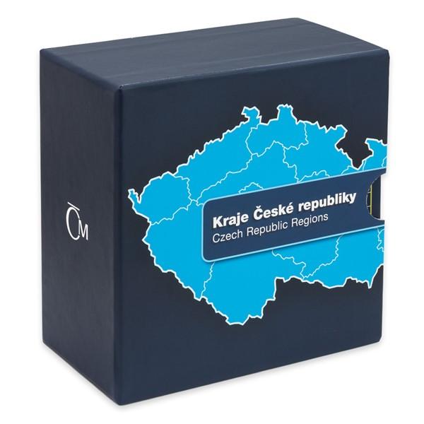 Box na 14 blistrů - Kraje ČR