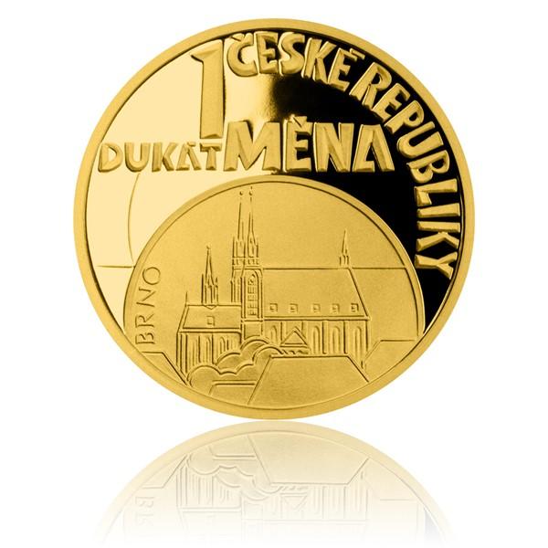 Dukát ČR 2018 Měna proof