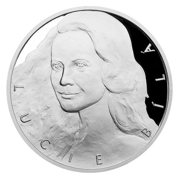 Stříbrná medaile Lucie Bílá proof