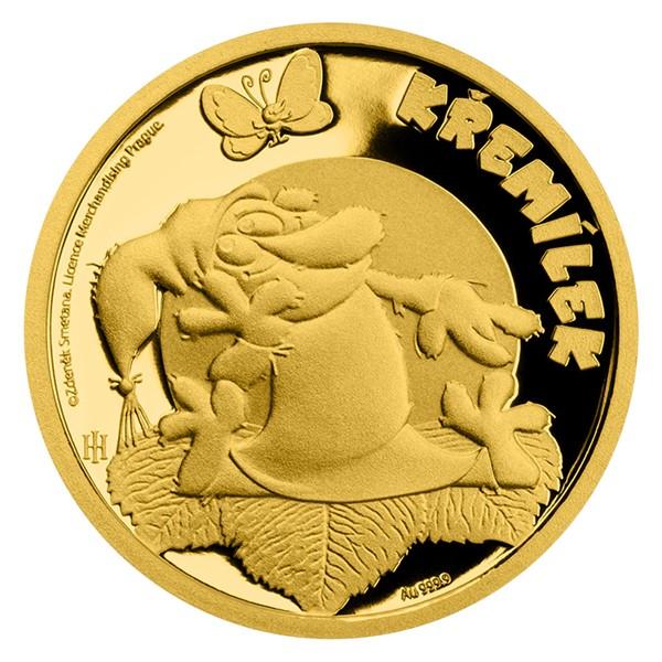 Zlatá mince Pohádky z mechu a kapradí - Křemílek proof