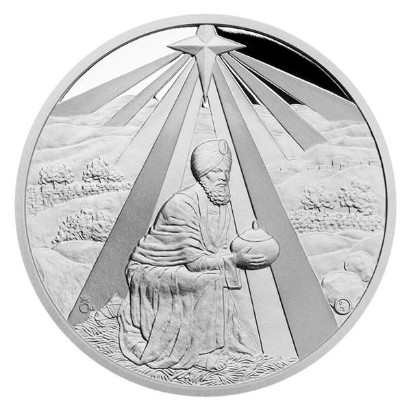 Stříbrná medaile Kašpar proof
