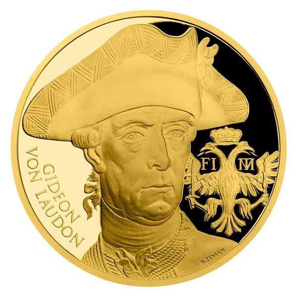 Zlatá uncová medaile Dějiny válečnictví - Bitva u Domašova proof