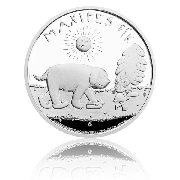 Stříbrná mince Maxipes Fík proof