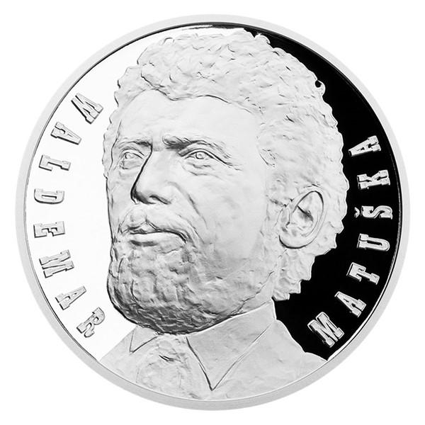 Stříbrná medaile Waldemar Matuška proof