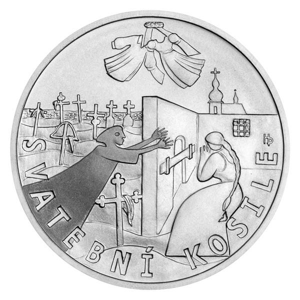 Stříbrná medaile K. J. Erben, Kytice - Svatební košile stand