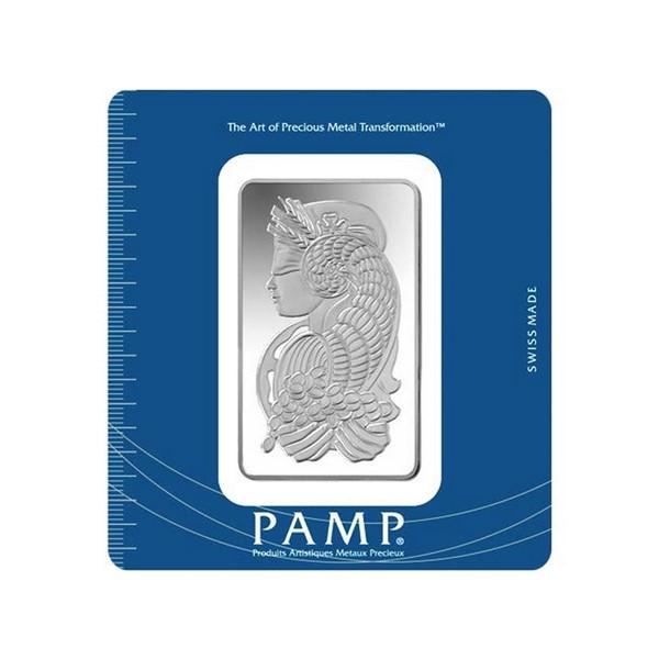Investiční stříbrná cihla 100 g - Pamp Fortuna