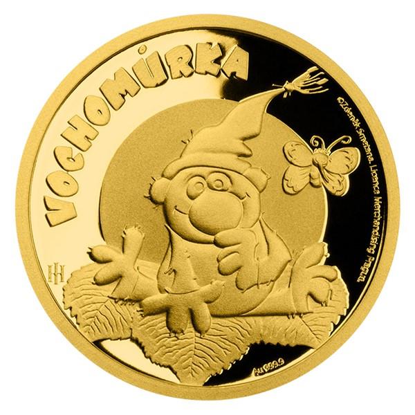 Zlatá mince Pohádky z mechu a kapradí - Vochomůrka proof