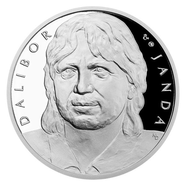 Stříbrná medaile Dalibor Janda proof