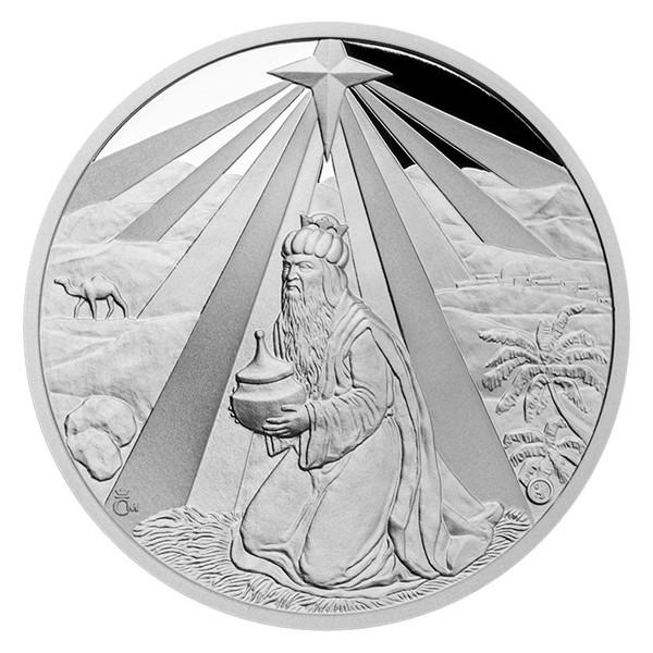 Stříbrná medaile Baltazar proof