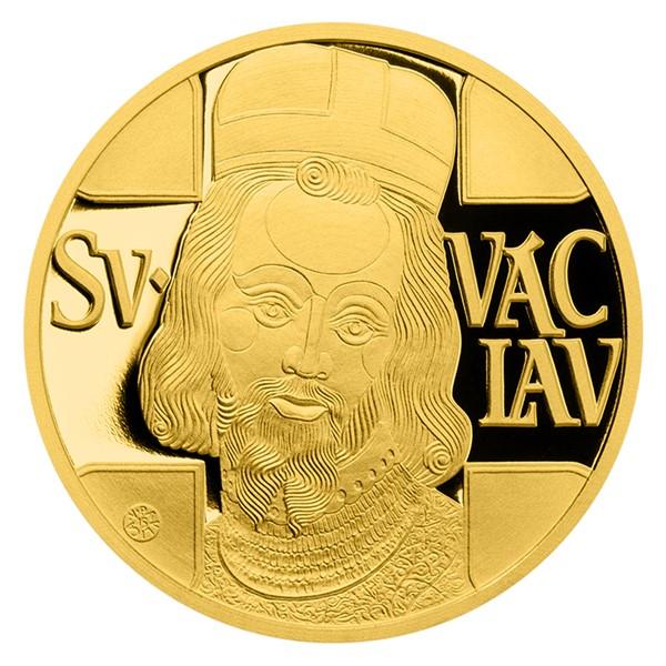 Jednodukát svatého Václava proof