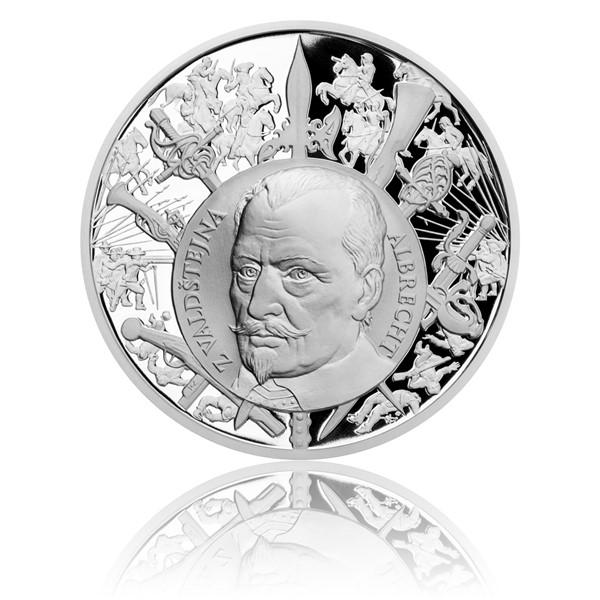 Stříbrná medaile Dějiny válečnictví - Bitva u Lützenu proof