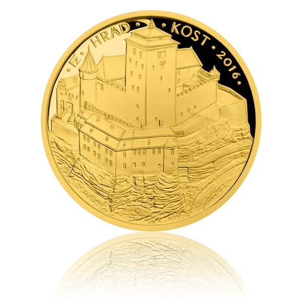 Zlatá mince 5000 Kč 2016 Kost proof
