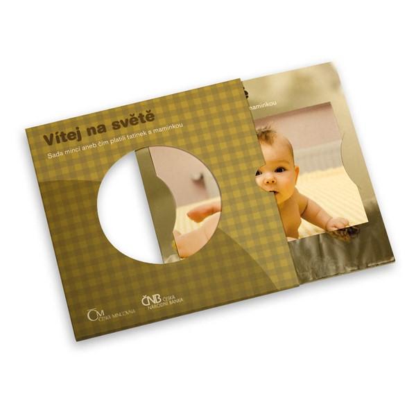 Sada oběžných mincí 2011 Narození dítěte stand