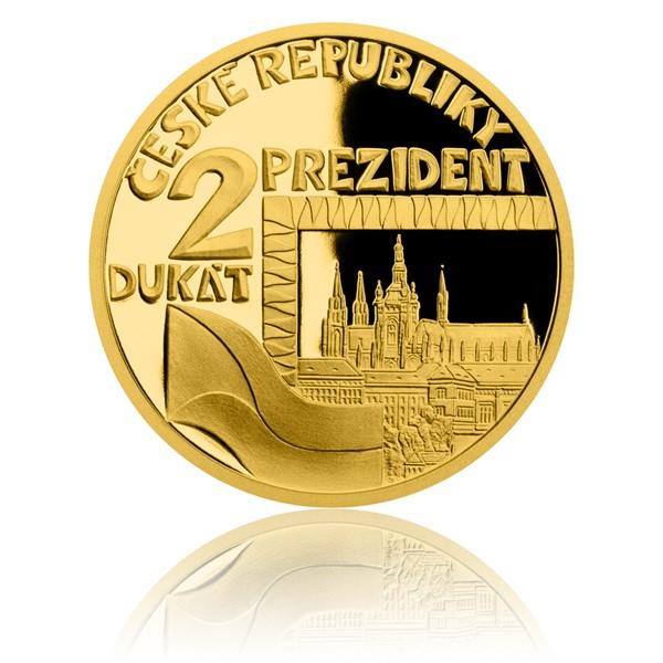 Dvoudukát ČR 2018 Prezident proof