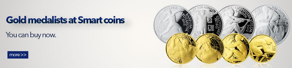 Gold medalist on Smart Coins